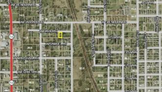 David Ave - Map