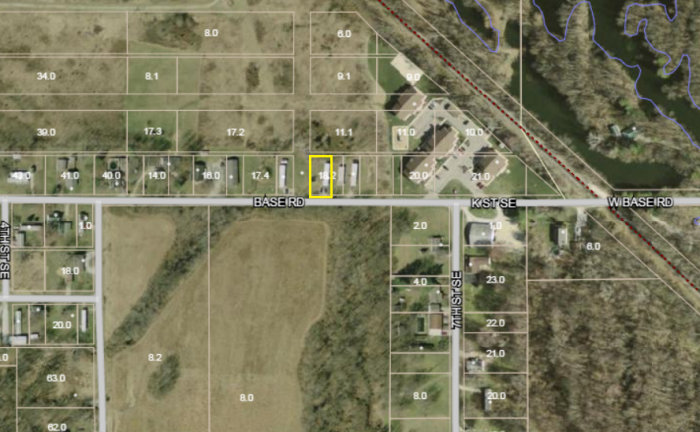 Map - 575 Baseline Rd - Mobile Home